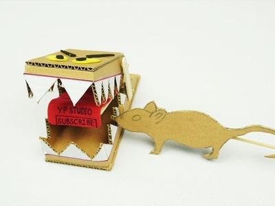 SIMPLE DIY Rat Trap from Cardboard