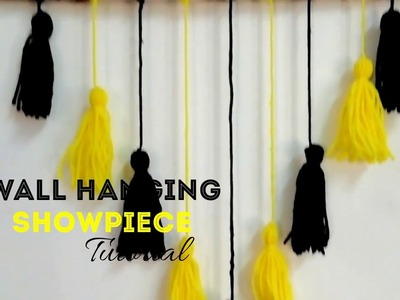 Simple Homemade and Trendy Wall Hanging Showpiece | CRAFT INDIA | DIY
