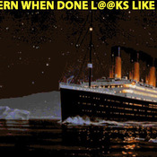 Titanic Iceberg Cross Stitch Pattern***L@@K***