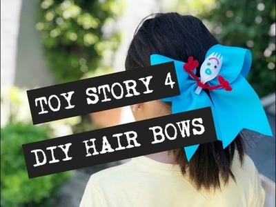 Toy Story 4 DIY Inspired Hair Bows
