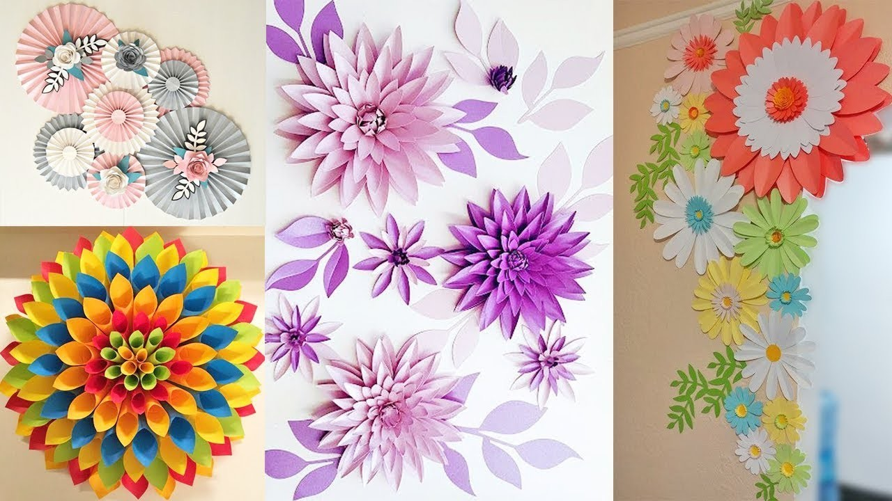 5 DIY Room Decorating Ideas | How to decorate your house with Paper | DIY Decor Idea 2019!
