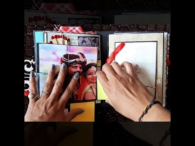 Birthday scrapbook for hubby|| birthday card|| handmade craft ||
