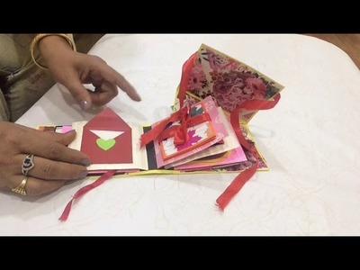 Cake slice card | birthday cake card | cake slice scrapbook