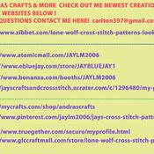 Unique Hand Made pdf Sewing Dmc Crafts CLemson Tigers Stadium Cross Stitch Pattern***LOOK***X***INSTANT DOWNLOAD***