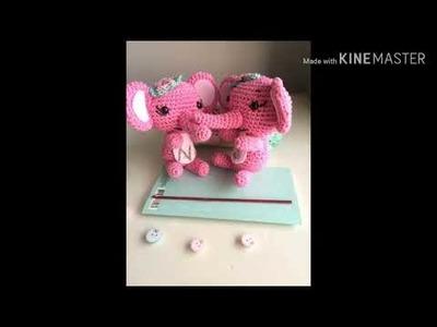 #crochet#amigurumi.elephant   . #كروشيه.اميجرومي. فيل