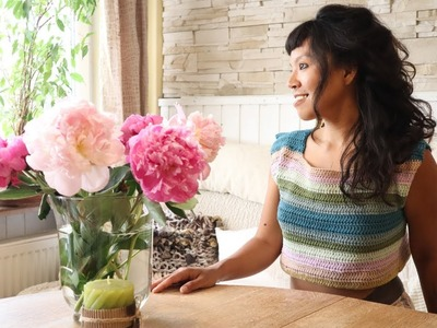 Crochet Boho top.Do You want to learn how to measure Your body to crochet this summer top?
