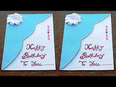 DIY - How to make Special Birthday Card For Best Friend || Beautiful Handmade Birthday card idea .