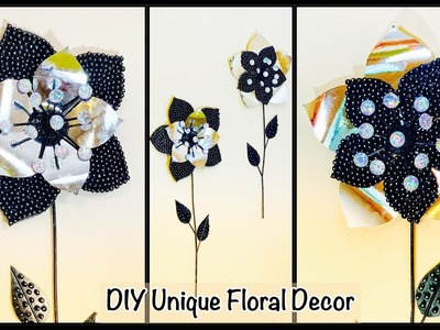 DIY Unique Floral Wall Decor| gadac diy| how to make wall hanging| craft ideas| diy projects| decor