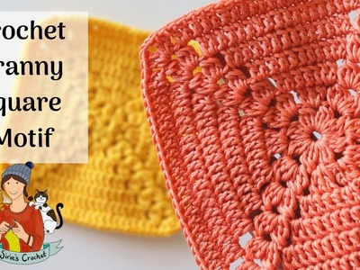 Easy Crochet Granny Square Motif