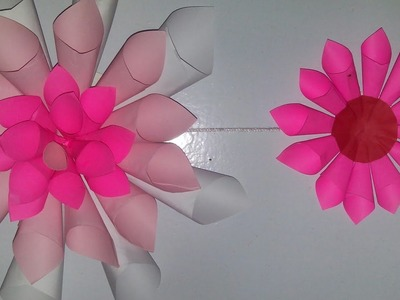 Easy wall decor how to make flower wall decoration