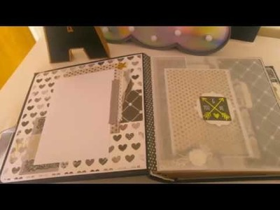 Elegant Scrapbook  Wedding Album