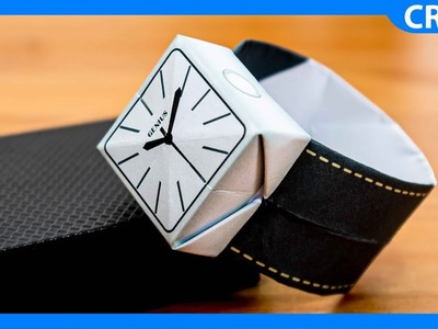 Father's Day Gift Ideas | How to Make an Origami Watch