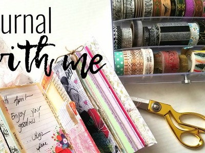 Gratitude Journal | How to Use a Junk Journal | Journal with Me