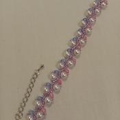 Handmade White Pearl Vine Bracelet