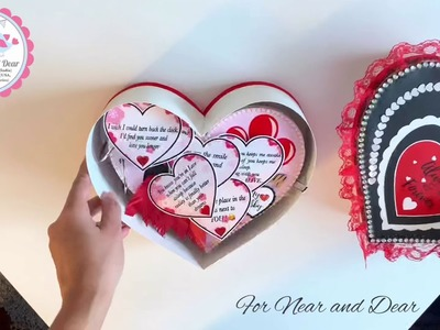 Heart shape scrapbook ♥️