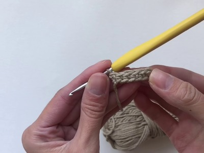 How to Crochet the Strap of the Wildrose Backpack