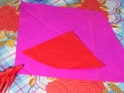 How to cutting pari kite farma Panpata & Kite tail easily at home