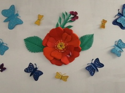 #How to make 3D butterflies.In Tamil