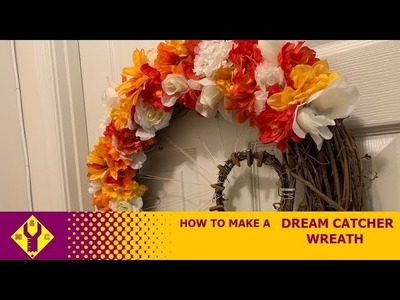 How To Make A Dream Catcher Wreath
