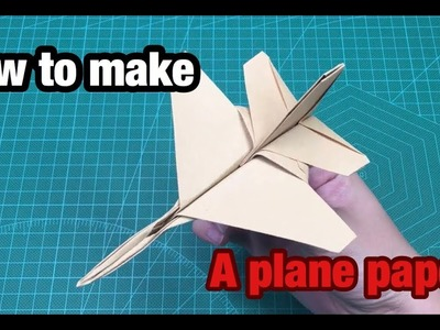 How to make a plane paper - So amazing - [Mon Men House]