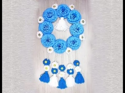 How To Make Beautiful Door.Wall Hanging For Home Decor || Decor Idea ||