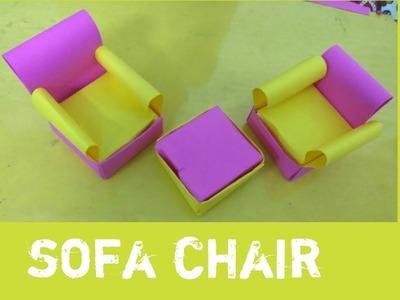 How to make Beautiful  Origami Sofa chair
