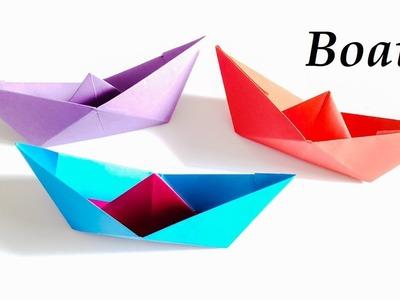 How to make ORIGAMI Boat || Origami Paper Boat || Origami Boat Tutorial