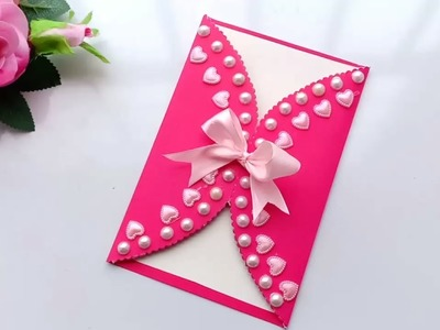 How to make Special  Birthday Card For Best Friend.DIY Gift Idea.
