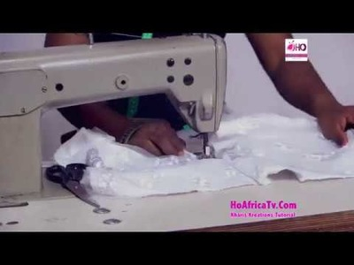 How To Sew A Wedding Gown (Pt 2)