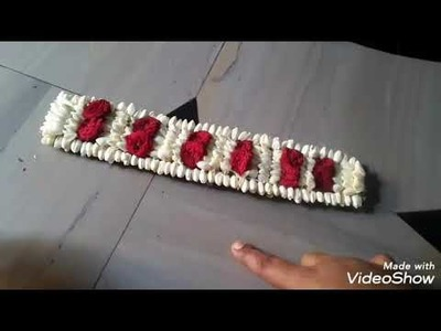 How to stich beautiful jadai for babies with little bit hair by using simple trick in tamil