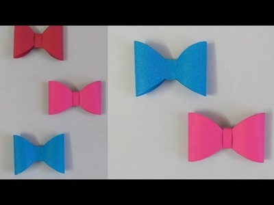 Origami- How to make a paper bow tie???? | Origami paper bow ties| DIY| Innovative Insider