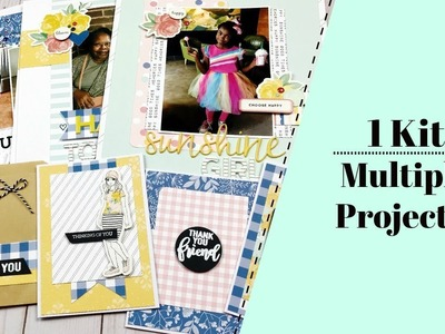 Scrapbook Process Video | 1 Kit - 15 Projects!