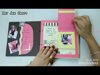 This is best customised gift for your loved one ???????? Scrapbook