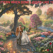 CRAFTS  Gone With The Wind Cross Stitch Pattern***LOOK***Buyers Can Download Your Pattern As Soon As They Complete The Purchase
