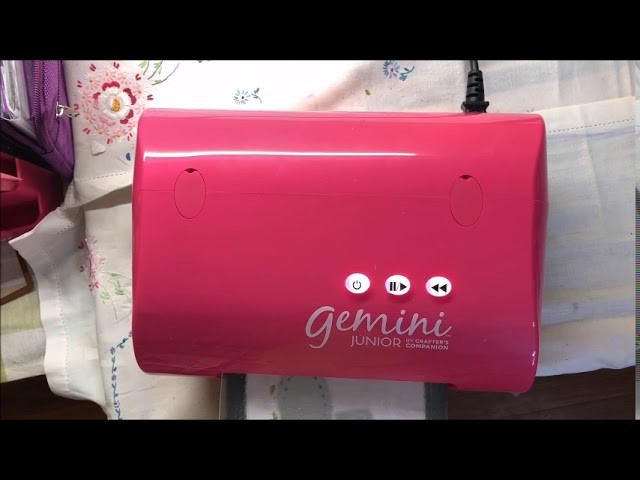 Using Sizzix precision base plate in the GEMINI JR - how to