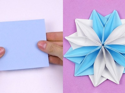 12 Easy Paper Flowers | Flower Making | DIY paper crafts