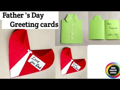 #2 Easy Father's Day greeting card ideas#2 DIY Father's Day greeting card ideas#simple & easy