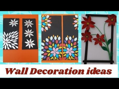 3 Awesome cardboard wall decoration ll Newspaper wall art l DIY