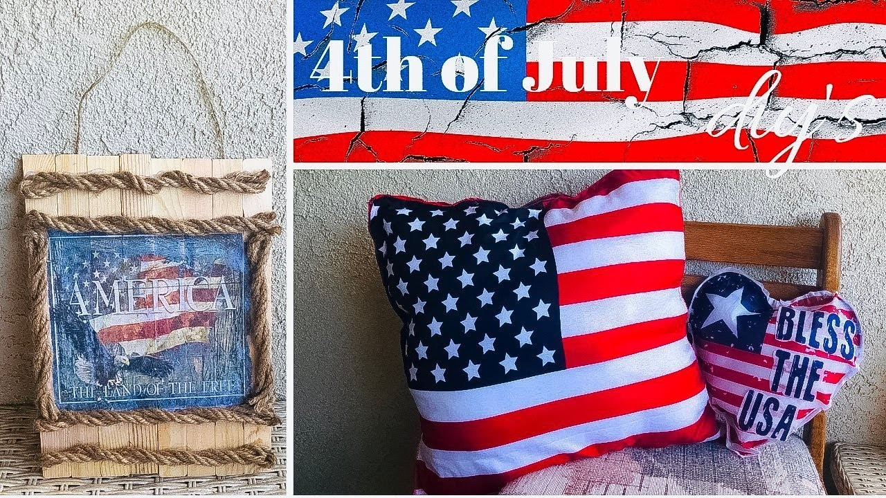 3 Simple & Inexpensive 4th of July DIY's