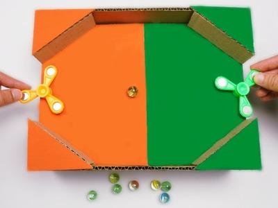 AMAZING DIY Cardboard Toys | Spinner Game For KIDS