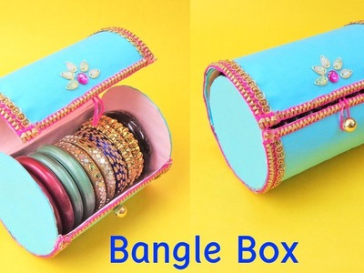 DIY Bangle Box making at home with waste plastic bottle   Best out of waste