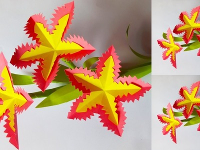 Make Diy Easy Cute Flowers How To Make Origami Paper Flowers