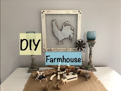 "DIY - Farmhouse Project - Meet Our ""Chickens"""