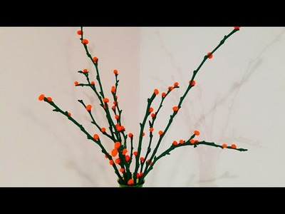 DIY Home decoration idea using Tree Branches or Twigs