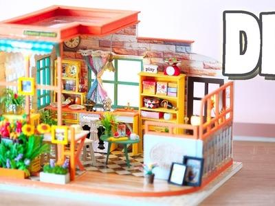 DIY Miniature Dollhouse Kit || Romantic Coffee - Miniature Land