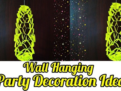 Diy Party Decoration Ideas   wall Decoration Ideas   Paper Wall Hanging   sweety trendzzz