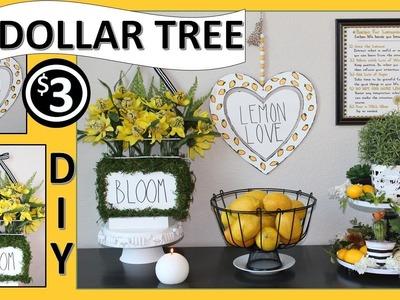 ???? DOLLAR TREE LEMON DECOR DIYS ????  (2019)