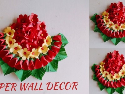 EASY DIY PAPER WALL DECOR | EASY GIFT IDEA | PARTY DECORATION | BEST FROM WASTE