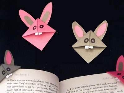 Easy Mice Corner Bookmark | Simple Paper Crafts of Everyone