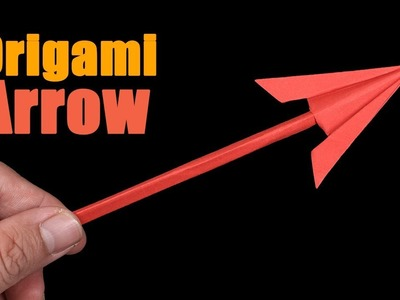 Easy Origami Paper Arrow - How to Make Arrow Step by Step